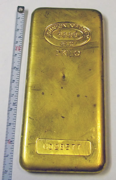 Photo Gold Bar